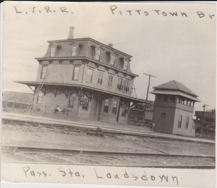 Lansdown, Pa. Station and Tower
